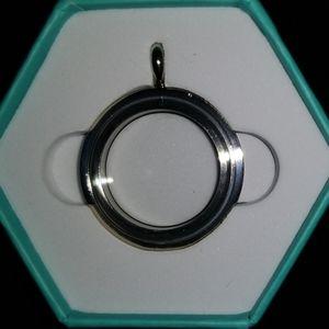 Silver Medium Base Locket